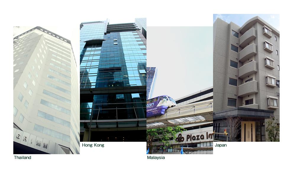 Thailand Malaysia Hong Kong